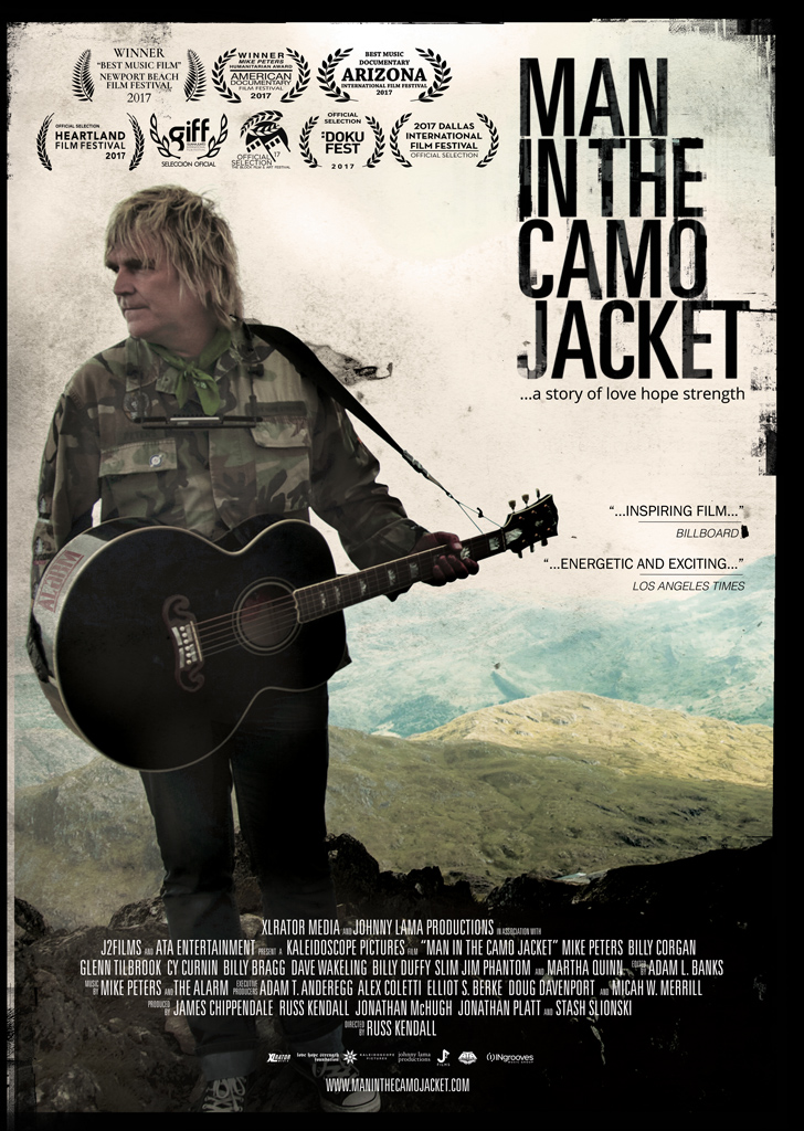 Man in the Camo Jacket - Poster