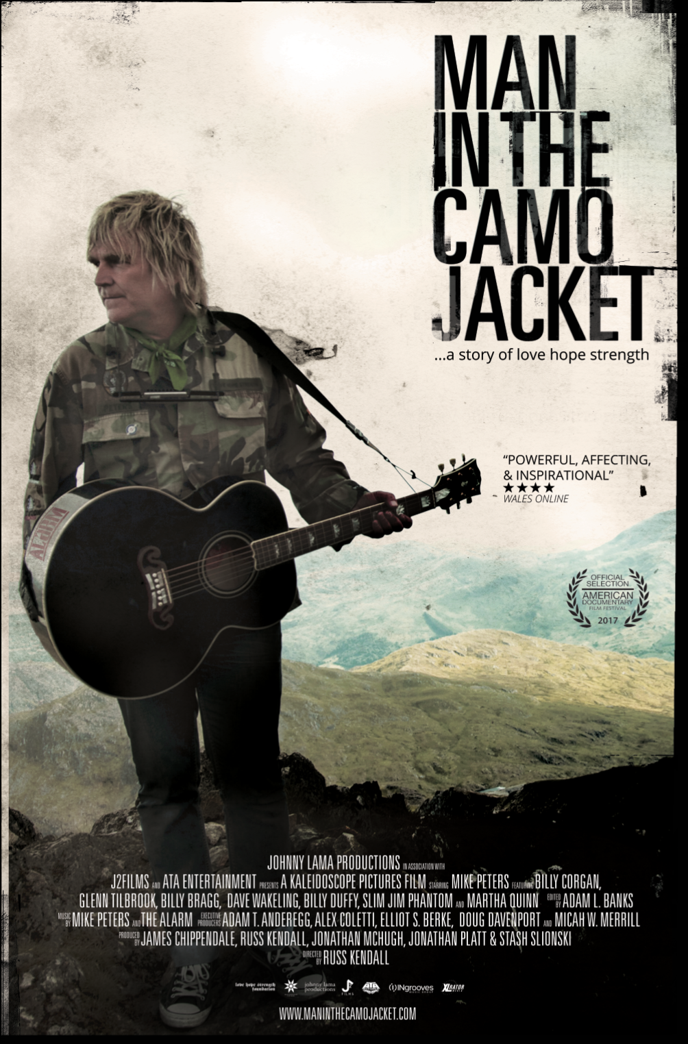 Man in the Camo Jacket - Film Poster