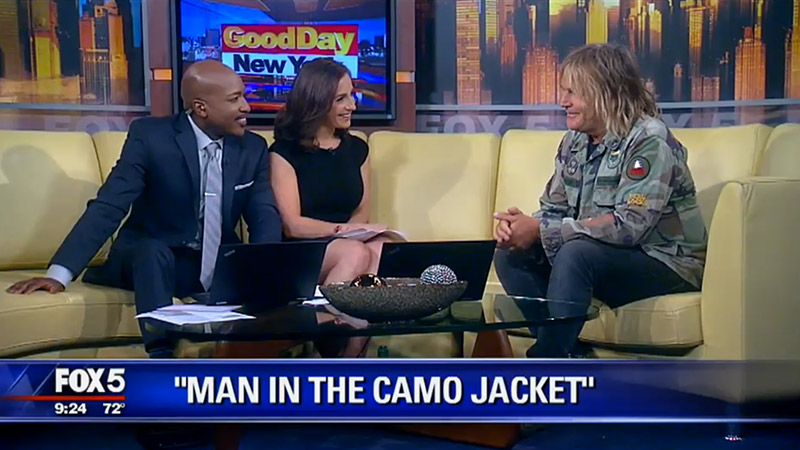 Man in the Camo Jacket - Media Article